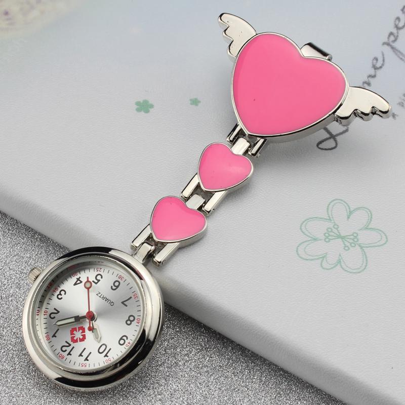 天使夜光防水护士表挂表医院用表女款胸表男学生手表可爱石英怀表