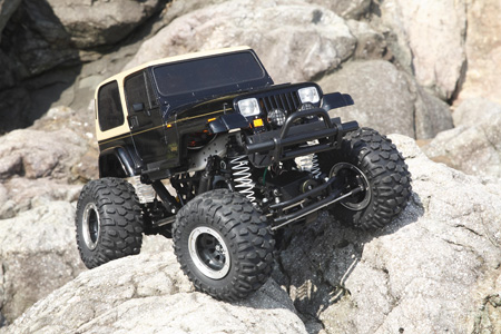 【威力模型】TAMIYA RC Jeep Wrangler - CR01 牧马人 58429
