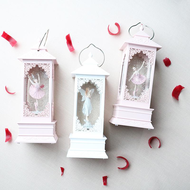 水晶灯音乐盒八音盒少女心芭蕾跳舞女孩六一儿童节生日礼物送女生