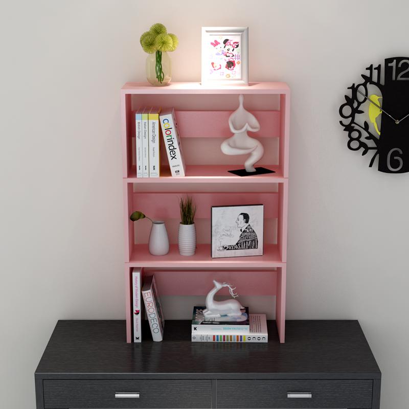 特价简易书架书柜桌上小书架置物架杂志架收纳架办公书架学生书架