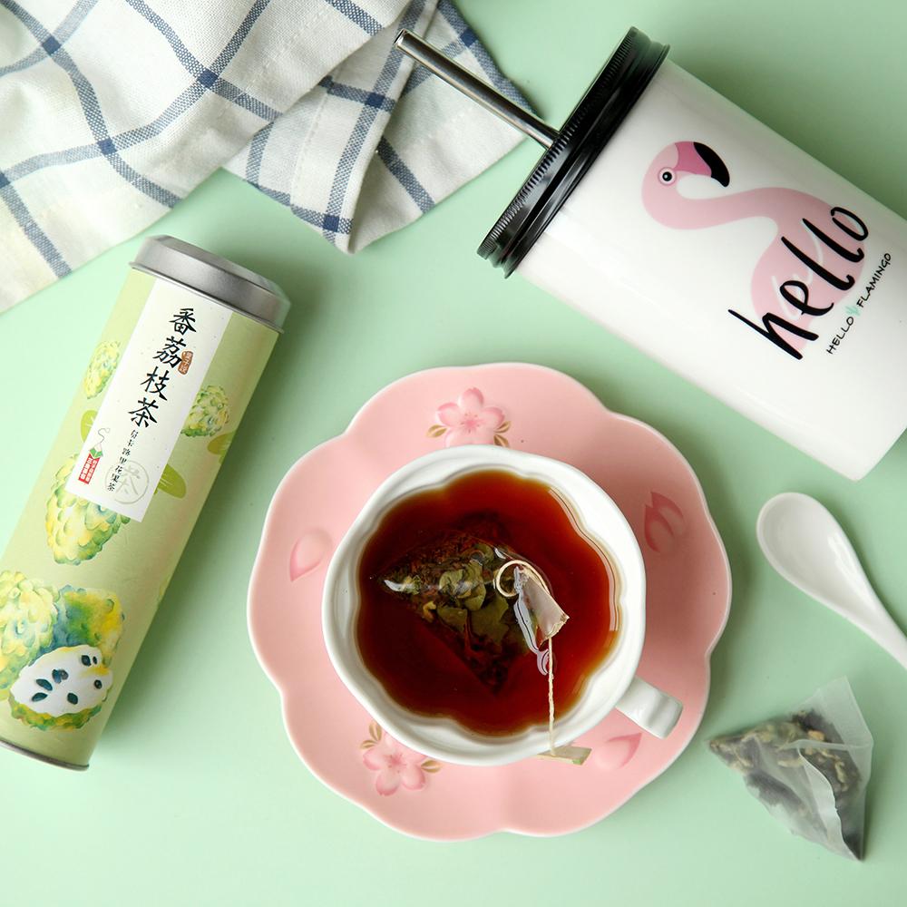 叶子说番荔枝负卡路里果茶红茶花茶组合荷叶茶女生茶三角茶包包邮