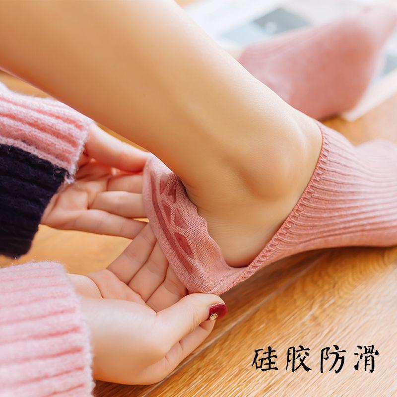 隐形袜子女船袜低帮浅口硅胶防滑超薄款春夏季ins潮防臭卡丝短袜 No.3