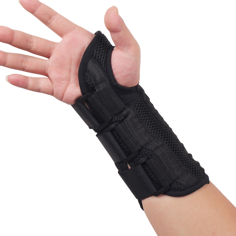 禾生医用手腕挠骨骨折固定夹板运动扭伤透气护腕护夹板桡骨裂护具