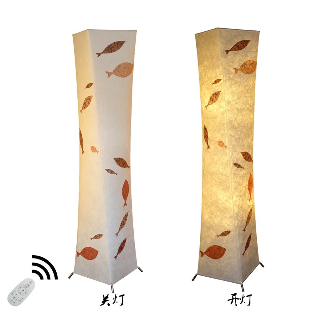 氛围客厅卧室中国风中式立灯 LED 之非创意仿古落地灯古典简约遥控