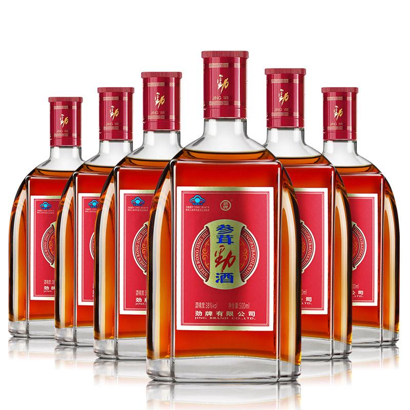 箱装 酒 光瓶 瓶 6 500ml 参茸劲酒 度 38 劲牌 劲牌官方旗舰店