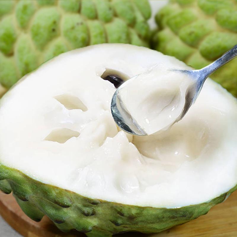 【大果】泰国牛奶凤梨释迦果新鲜6斤整箱大目番荔枝水果林檎包邮5