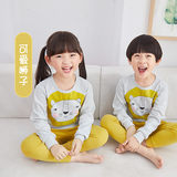 Older children baby girls underwear sets cotton pajamas for children Qiuyiqiuku boys warm cotton sweaters in cotton