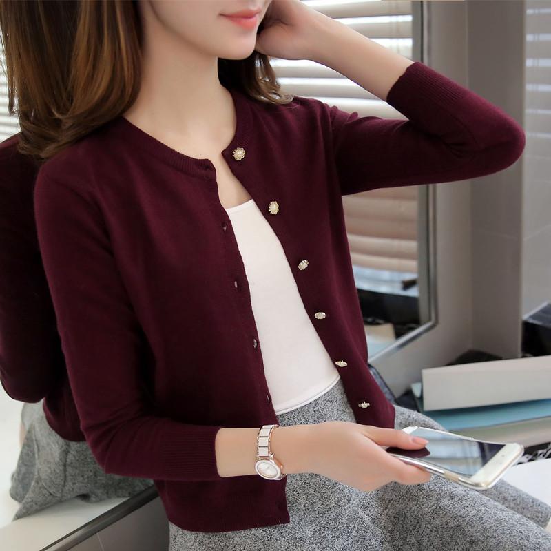 2021春秋季新款小毛衫外套可直接接触皮肤,简约宽松版型