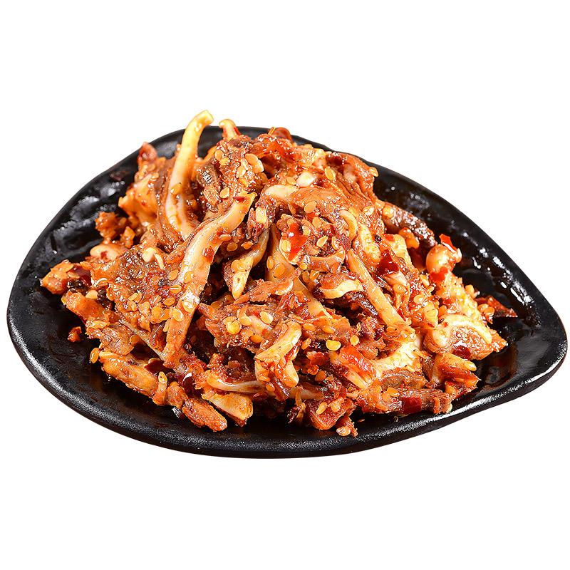 麻辣卤味休闲特产猪肉制品馋嘴零食 100g 湖南风味小吃香辣猪脆骨
