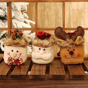 平安夜苹果礼盒圣诞苹果袋圣诞礼物袋儿童圣诞节礼物平安果包装盒