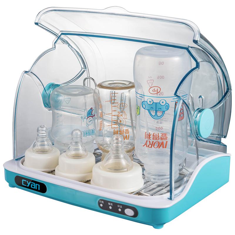 奶瓶消毒器带烘干二合一婴儿紫外线消毒锅宝宝餐具消毒柜家用小型