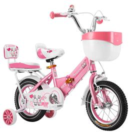 凤凰儿童自行车2-3-6-8-10岁女孩脚踏车单车女童12-16-18寸公主款