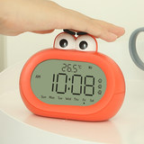 Alarm clock mute student bedside sound oversized luminous children's electronic cartoon small alarm clock