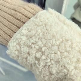 羊毛羔外套女冬x2羊羔毛韩版羔羊绒学生羊毛好羔短款羊绒糕羊卷毛