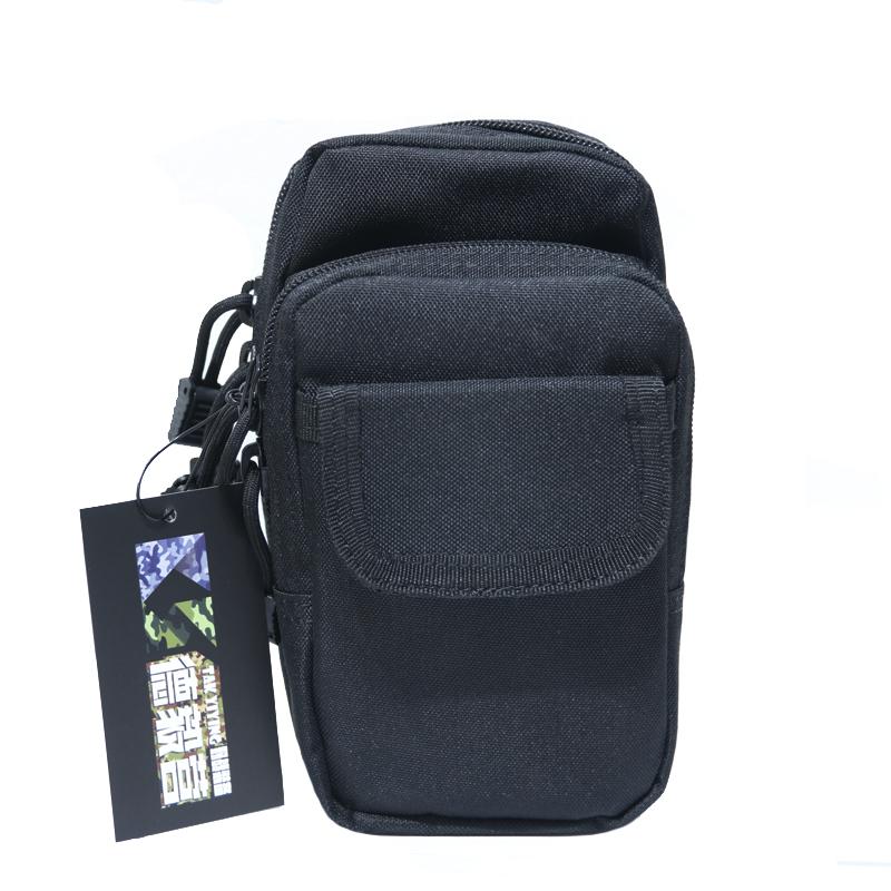 德毅營 腰包 運動戶外腰包男多功能掛包穿皮帶戶外6寸大屏手機
