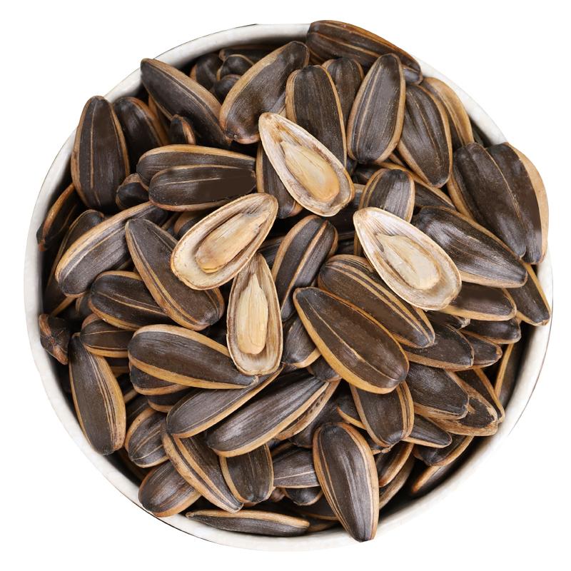 洛森果焦糖瓜子500g*2袋葵花籽散装包装坚果炒货批发休闲小零食
