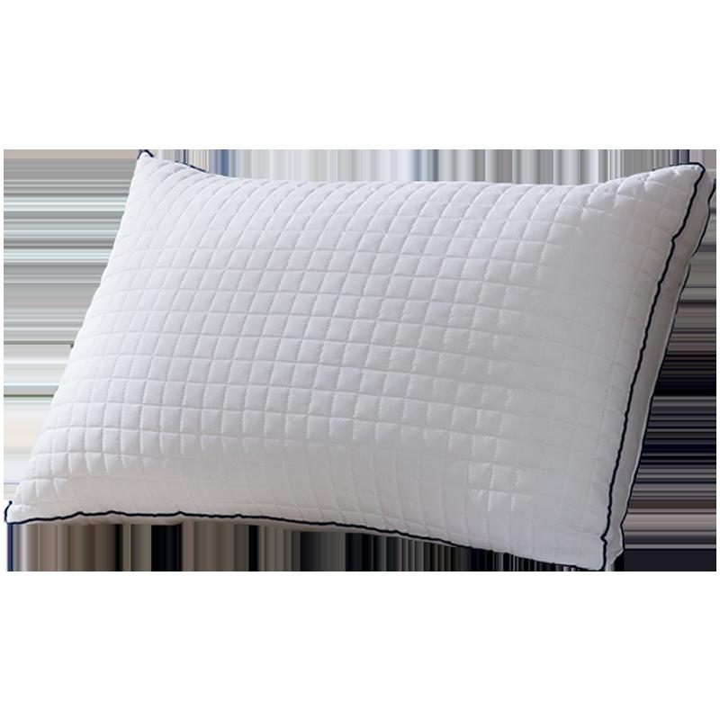 LOVO家纺枕芯罗莱生活出品床品单人枕头立体绗缝防螨羽丝绒枕