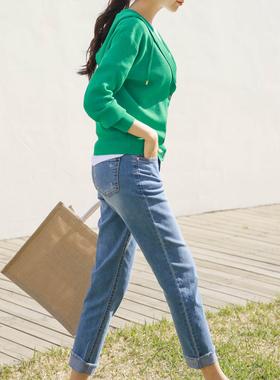 开衫毛衣女士春装2021年新款女装春秋打底针织衫上衣春款绿色外套