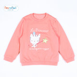 Rabbit and raccoon small children, boys and girls new autumn and winter plus thick cotton sweater and cashmere shirt warm jacket