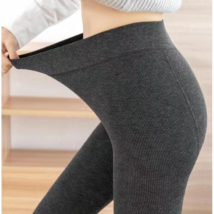 卡拉依柜羊绒打底裤保暖裤一体裤