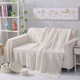 Double sofa blanket dustproof sofa cover cover sand release white backrest towel net red sofa towel full cover cloth Nordic style