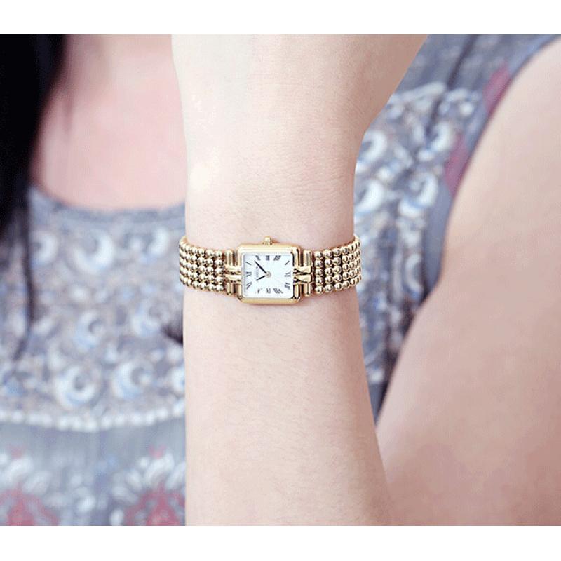 赫柏林Michel Herbelin 女士石英表珍珠手表时尚小巧17473/BP08