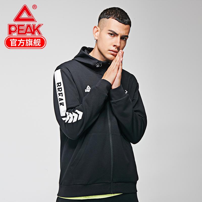 匹克圆领卫衣男2019秋季新款男子训练套头衫休闲运动服长袖上衣男