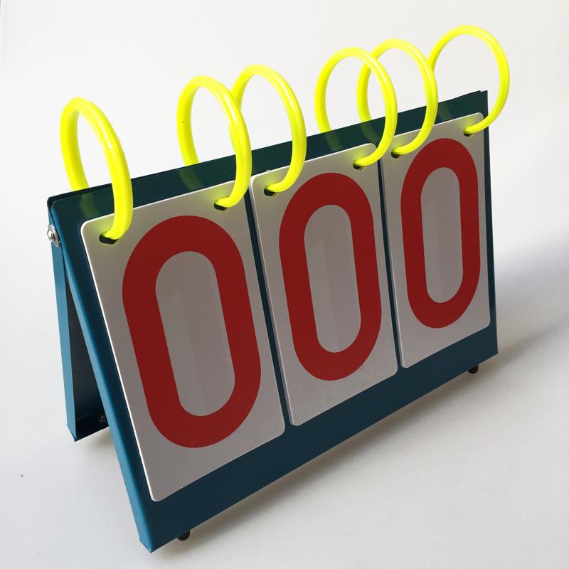 包邮羽毛球乒乓球篮球比赛知识竞赛记分牌迷你计分器三位四位