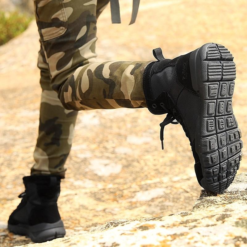 登山鞋徙步鞋女高帮防水防滑轻便鞋越野旅行鞋沙漠靴