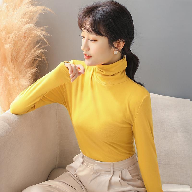 【爆款推荐】半高领加绒毛衣打底衫女2020年新款秋冬女士加厚保暖修身内搭  2小时销量达3651件  原价99.00元,券后价仅34.00元 ----------------- 【立即领券】点击链接即