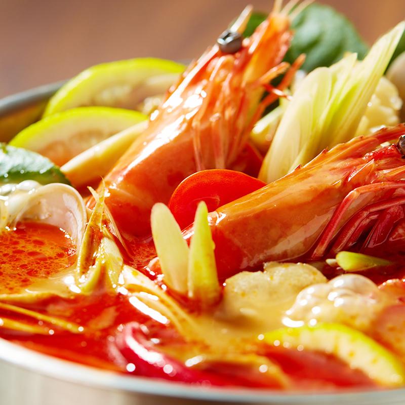 【海底捞】四季桶火锅底料蘸料套餐桶