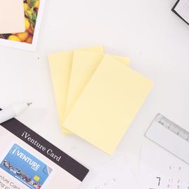 得力文具7732便利贴彩色便签纸学生用记事贴正方形可爱便签本小本子n次贴商务多规格批发 三本装