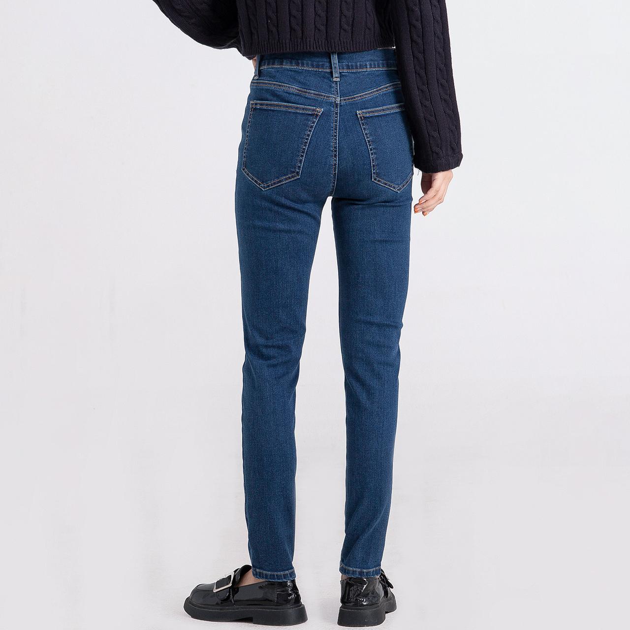 雪中飞 2020秋季新款女士弹力小脚牛仔裤