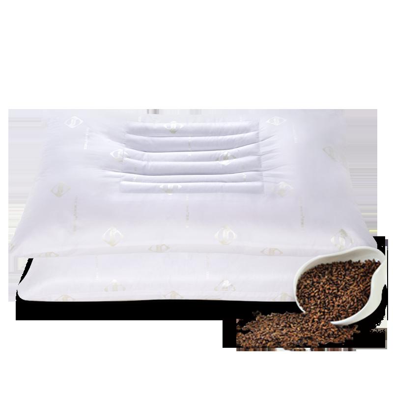 埃迪蒙托决明子枕头枕芯护颈枕一对装成人双人学生螨抗菌