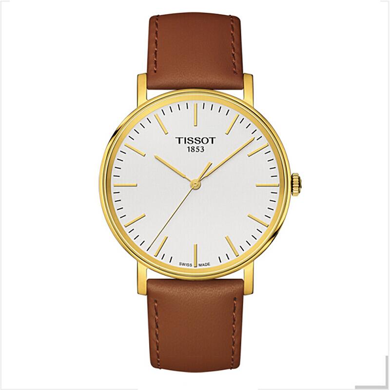 香港直邮Tissot/天梭 魅时系列石英男表T109.410.36.031.00