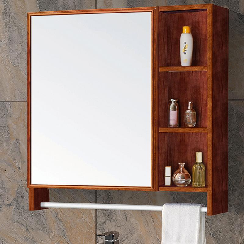 浴室镜柜 挂墙式卫生间镜柜浴室柜厕所镜子镜箱 卫浴洗手间储物柜