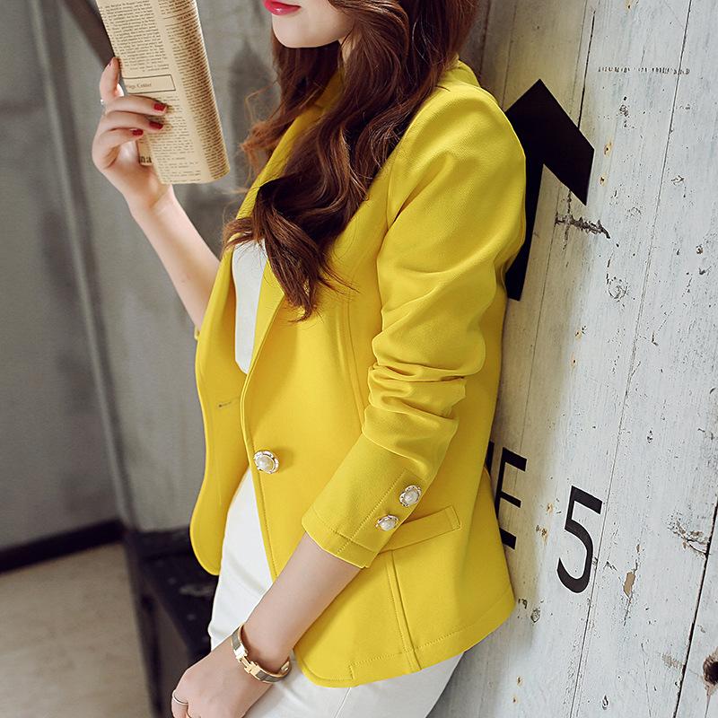 女装外套女士大码时尚休闲显瘦修身长袖小西装