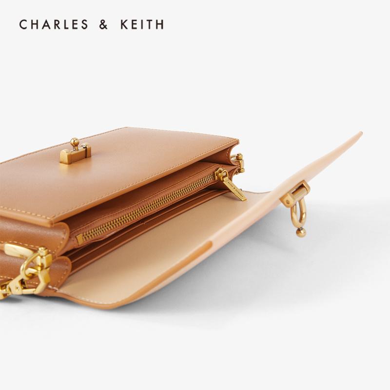 女士金属扣饰单肩包钱包 10840196 CK6 春夏新品 KEITH2020 & CHARLES