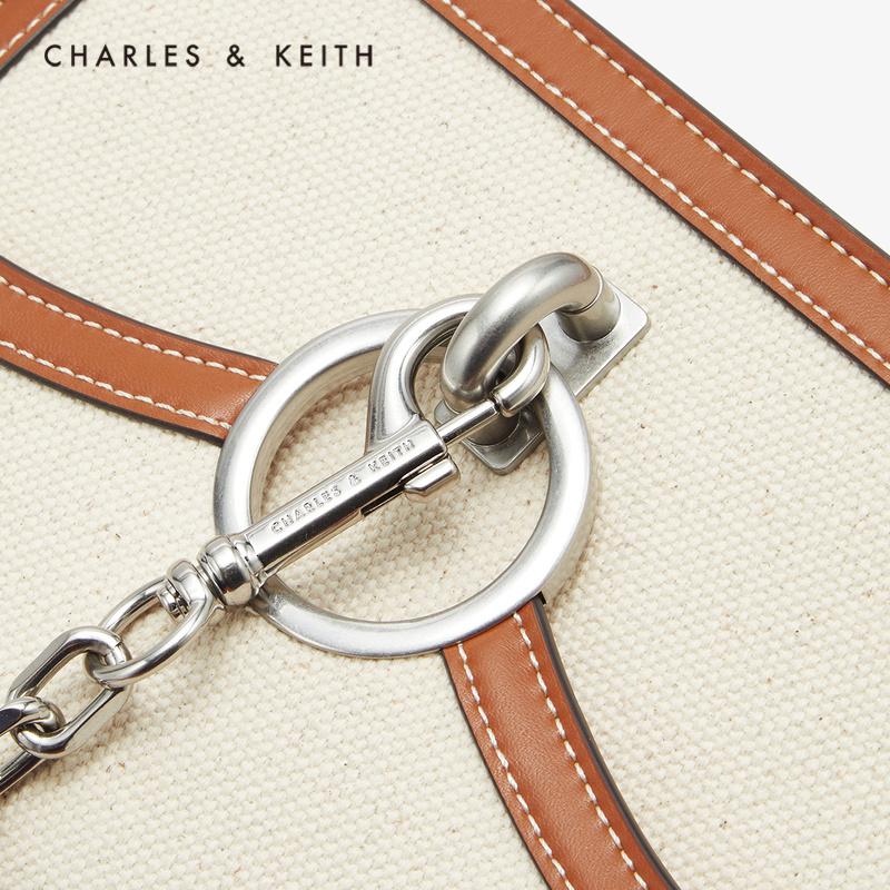 金属圆环饰手提单肩包女 1 20701016 CK2 春新品 KEITH2020 & CHARLES
