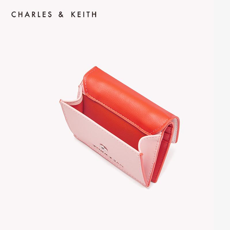 时尚撞色短款钱包单肩包女 10680831 CK6 春新品 KEITH2020 & CHARLES