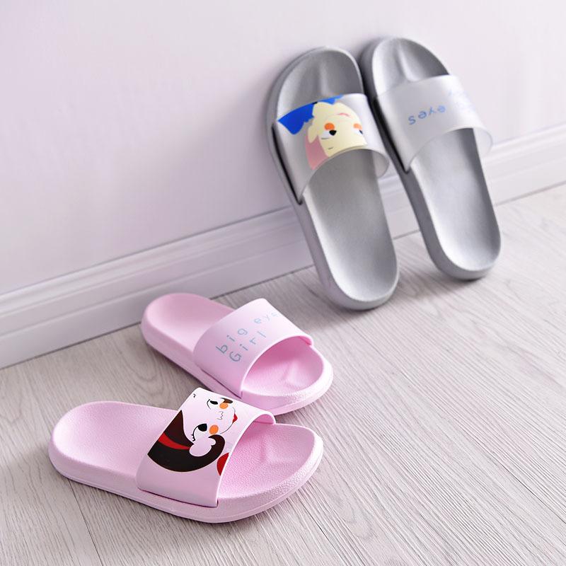 夏季可愛男女洗澡涼拖鞋地板韓國室內防滑情侶家居家夏天浴室拖鞋