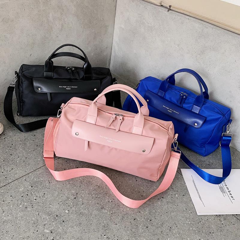 斜挎包大容量运动干湿分离旅行手提包行李袋短途轻便 健身包包女