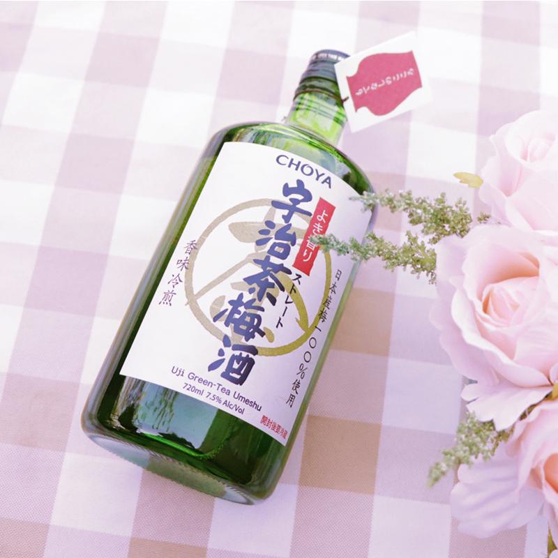 梅子酒 日本蝶矢俏雅宇治茶梅酒抹茶青梅酒女士果酒