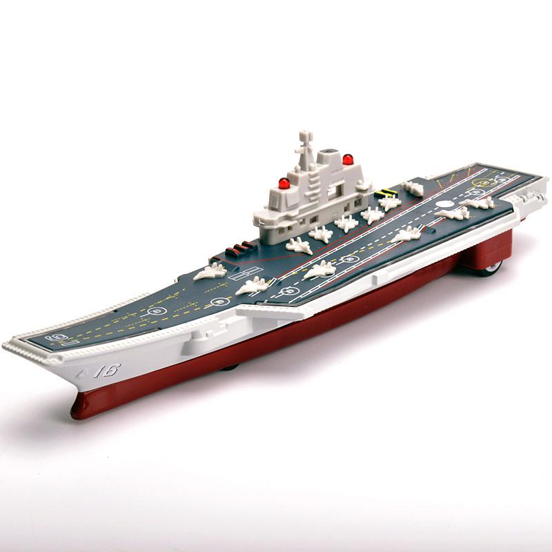 仿真合金辽宁号航空母舰模型 儿童玩具宝宝小车男孩小汽车模型