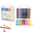 Tianhao Zhengzi Lala Rabbit Children's Student Painting Art Pen 12 Colors 18 Colors 24 Colors 36 Colors 48 Colors Single-head Triangle Pen Holder Water-soluble Ink Soft-head Watercolor Pen Cleaning Simple, Practical and Safe