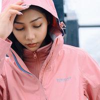 探路者冲锋衣女潮牌三合一男可拆卸加绒加厚保暖户外女装防风外套 (¥699)