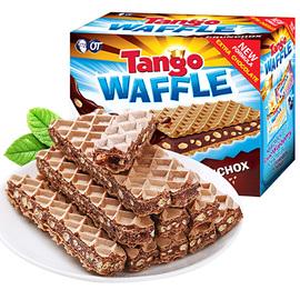 印尼进口奥朗探戈tango威化饼干 咔咔脆巧克力夹心脆米香休闲零食