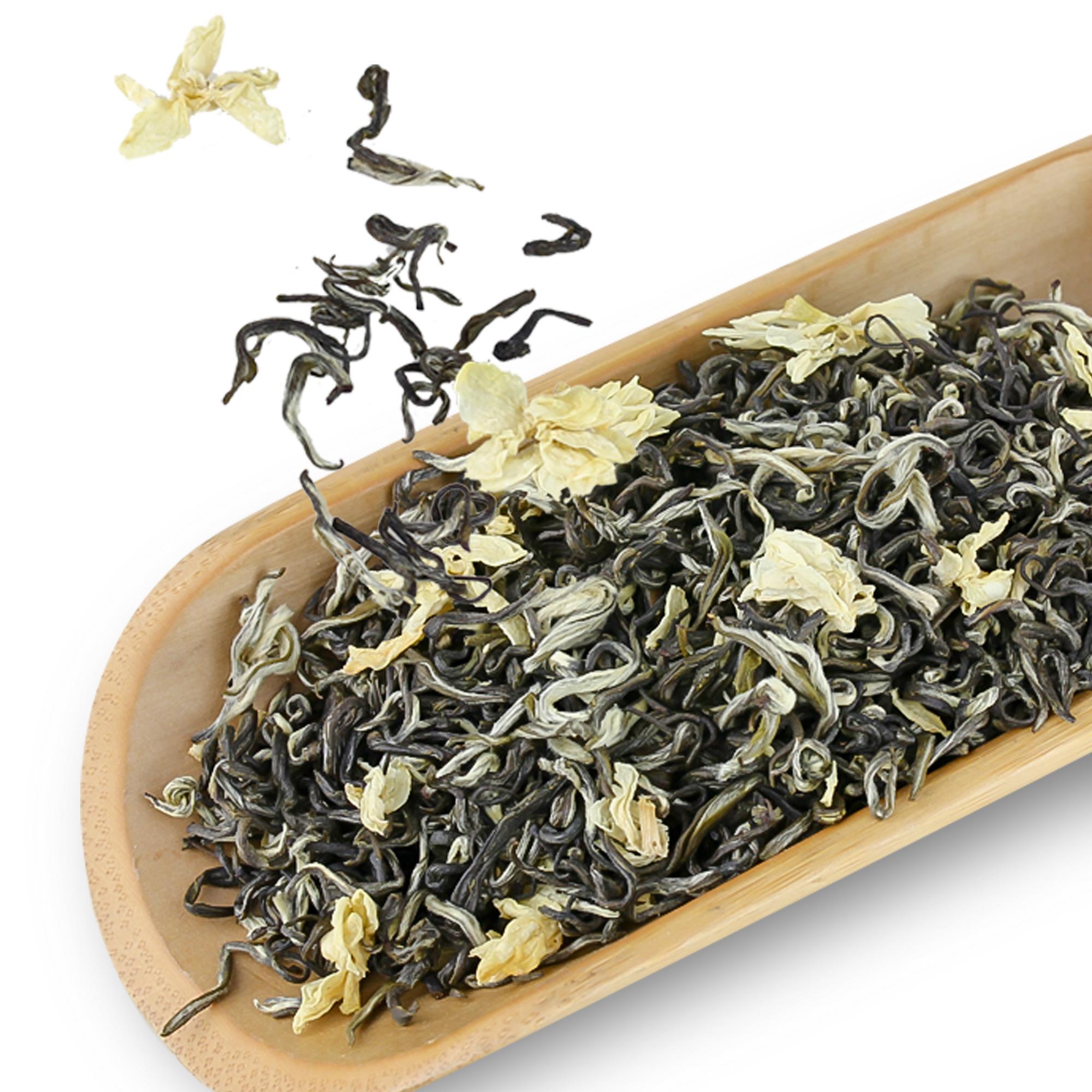 罐装 250g 新茶带香浮飘雪浓香型茉莉绿茶特级四川茶叶 2018 茉莉花茶