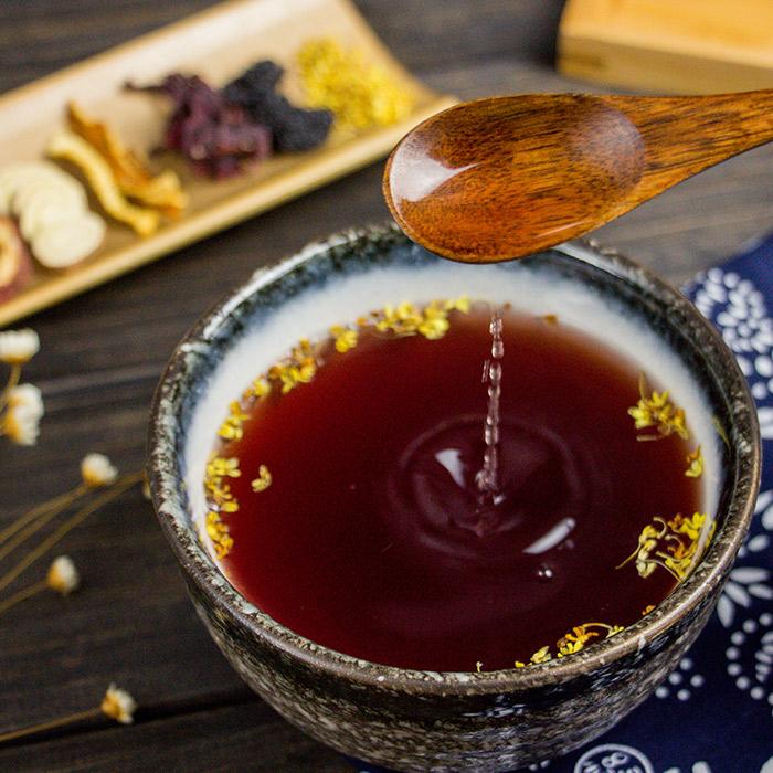 5袋|同仁堂正宗老北京酸梅汤原料包 自制酸梅粉桂花山楂乌梅汤汁