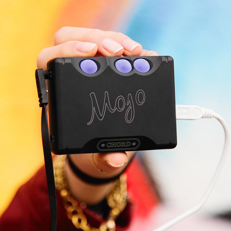 英国CHORD和弦mojo二维码版手机解码器dac发烧hifi音频耳放一体机